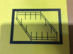 filigranes Treppengeländer für die Modelleisenbahn