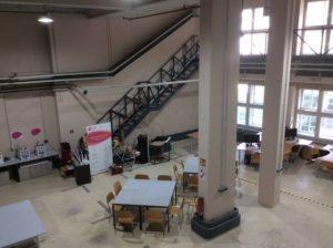 Sicht auf den Werkstattbereich mit den 3D Druckern der Firma Ultimaker
